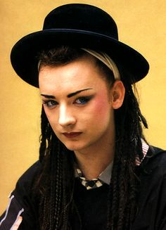 Boy George.  Dad how he messed up his life.  I still enjoy listening to Culture Club!