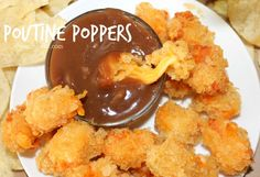 ~Poutine Poppers! – Oh Bite It