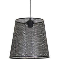 Suspension Industrielle Fuzo métal noir 1 x 60 W COREP