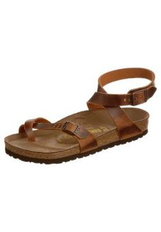 Birkenstock Sandals - these look like a mix of birks and chacos! love.