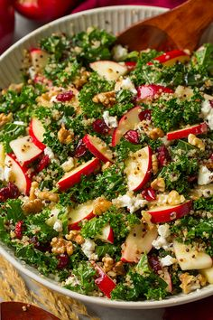 Autumn Kale Apple and Quinoa Salad   Cooking Classy