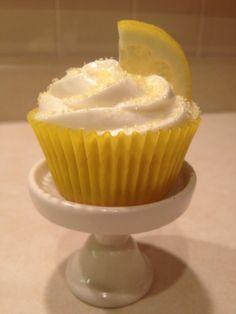 Cupcakes de limoncello por Alma Obregon.