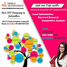 Hurry UP!! To get More Traffic on your WEBSITE visit today the Best # SEO #Services in #Jalandhar #NimbleTechnocrats Call: +91-9041001302 www.nimbletechnocrats.com