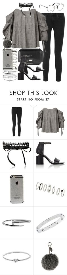 """Sin título #4068"" by hellomissapple on Polyvore featuring moda, Acne Studios, Fallon, 3.1 Phillip Lim, Alexander Wang, Cartier, Michael Kors, Fendi y Ray-Ban"