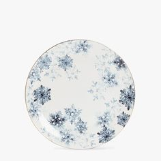 Breakfast set with snowflake transfer