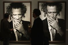 Exhibited Keith.   33 Rocking Pictures To Celebrate Keith Richards' 70th Birthday