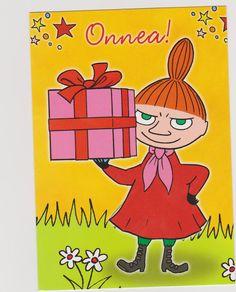 Moomin Little My Best Birthday Wishes, Birthday Greetings, Birthday Cards, Happy Birthday, Little My Moomin, Cartoon Photo, Tove Jansson, Old Cartoons, A Comics