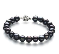 Shop a great selection of Kaitlyn Black A Quality Freshwater 925 Sterling Silver Cultured Pearl Bracelet For Women. Find new offer and Similar products for Kaitlyn Black A Quality Freshwater 925 Sterling Silver Cultured Pearl Bracelet For Women. Freshwater Pearl Bracelet, Pearl Jewelry, Gemstone Bracelets, Jewelry Bracelets, Link Bracelets, Bracelet Sizes, Cultured Pearls, Luxury Jewelry, Body Jewelry