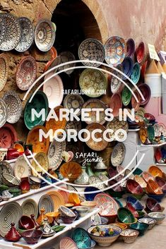 It is almost time.... #SoulJourney MOROCCO Markets: