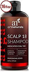 ArtNaturals Dandruff Shampoo Coal Tar with Argan Oil Therapeutic Treatment Helps Anti-Itchy Scalp Clear Symptoms of Psoriasis Eczema Natural and Organic Sulfate Free 16 oz. Best Shampoo For Psoriasis, Scalp Psoriasis Treatment, Psoriasis Cream, Anti Dandruff Shampoo, Psoriasis Remedies, Eczema Psoriasis, Psoriasis Symptoms, Scalp Treatments, Pranks