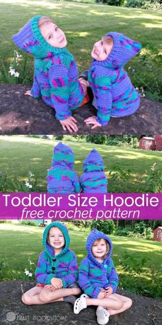 Introducing this cute crochet vest that comes in 5 sizes starting toddler hoodie free crochet pattern size 23t fandeluxe Gallery