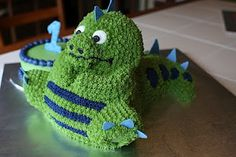 3D Dinosaur Cake Party Ideas for kids Pinterest Dinosaur cake