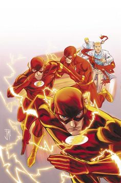 Getting Dressed in a Flash #DC #Flash
