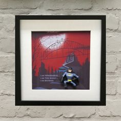 Batman The Animated Series Inspired Batman 3-D Effect Box