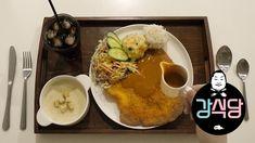 백종원 강식당 강호동 돈까스 with 경양식 소스 & 크림스프 먹방 [ASMR COOKING EATING] Gang Sikdang Pork Cutlet - YouTube