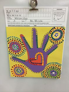 Aboriginal Dot Paintings 3rd Grade Square 1 Art