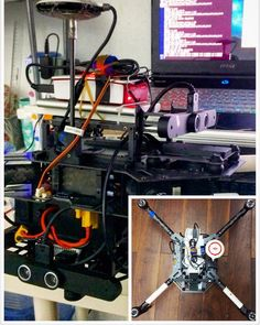 Something we loved from Instagram! Manage to control the drone DJI matrix100 using raspberry pi 2 via a USB to TTL cable. The guidance system can be also accessd by raspberry pi via USB. Raspberry pi serves as a second brain in API mode. Everything can run just in raspberry pi and raspberry pi can be controled remotely via ssh. --One development model for matrix100  #dji #djim100 #djimatrix100 #m100 #matrix100 #djimatrice100 #matrice100  #djiglobal #raspberrypi #raspberrypi2 #raspberrypi2b…