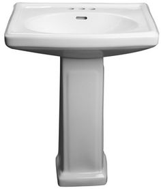 PROFLO® Alder Creek 25-3/8 x 19-7/10 in. Lavatory Sink with 8 in. Centerset Faucet Holes White PF14108WH