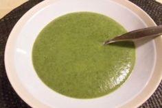 Crème verte aux fanes de radis