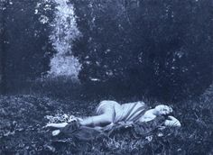 """Fred Holland Day, 1900  """"Dreams have as much influence as actions""""  Stéphane Mallarmé"""