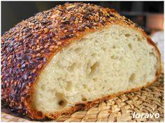 Хлеб без замеса (No-Knead Bread) | Blog Loravo: Кулинарные записки дизайнера