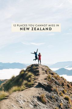 Planning a trip to New Zealand and trying to figure out an itinerary? Here are 12 places you MUST visit on New Zealand's North and South Islands! Nugget Point, Wanaka, Queenstown, etc! #newzealand #northisland #southisland #nz #travel