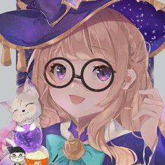 Anime Angel Girl, Anime Girl Neko, Cool Anime Girl, Kawaii Anime, Mobile Legend Wallpaper, Hero Wallpaper, Anime Couples Hugging, Video Game Backgrounds, Lunar Magic