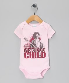 c5a701acc Pink 'Voodoo Child' Jimi Hendrix Bodysuit - Infant | Daily deals for moms,