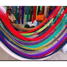 Hammocks (Hamacas or Chinchorros) popular in South America for safety (sleeping above ground) to prevent disease transmission, insect stings, or animal bites.
