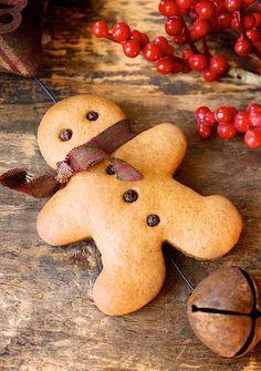 A little gingerbread man.