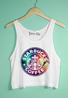 cute crop tops for tweens Teen Fashion Outfits, Outfits For Teens, Cool Outfits, Summer Outfits, Crop Tops For Tweens, Starbucks Shirt, Starbucks Clothes, Mode Cool, Belly Shirts