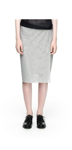 Wrap Skirt in sporty mesh (995 sek) via SCHO Collection. Click on the image to see more!