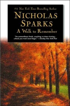 Nicholas Sparks is one of my guilty pleasures. His stories may be completely unrealistic, but it's fun to dream!