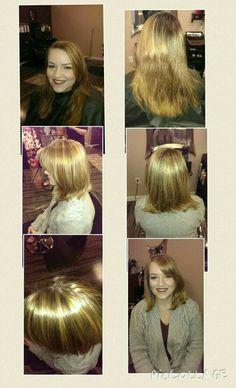 Hair and makeup for masquarde ball   Foiled hair studio   Pinterest ...