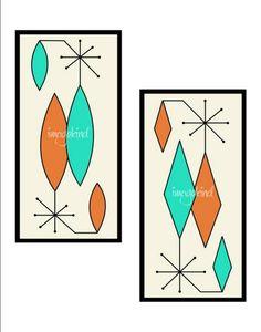Mid Century Modern art prints by Donna Mibus. Available at:  http://www.imagekind.com/art/Gravel-Art-_art_art?show=canvas&IMID=6e25ddbb-4f39-461e-9435-4edcc79f7aa7
