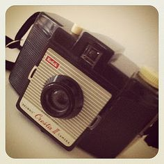 Retro Kodak brownie camera