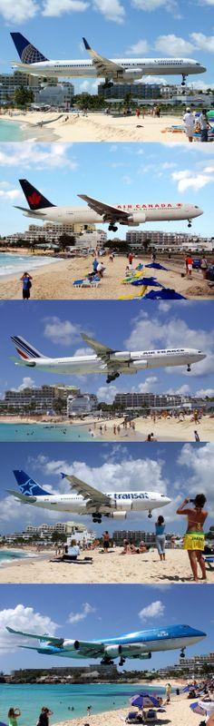 Maho Beach St Maarten Landings