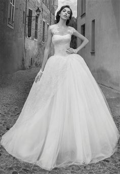 >> Click to Buy << vestido de noiva 2017 Elegant Custom Made Ball Gown Wedding Dresses Lace Up Back Bridal Gowns Free Shipping robe de mariage #Affiliate