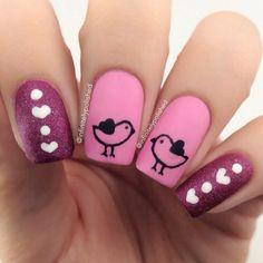 valentine by infinitelypolished #nail #nails #nailart