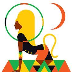 leo Los signos del zodiaco ilustrados con un estilo fashion