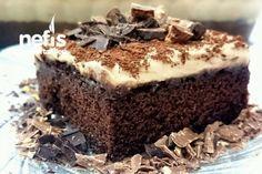 Coffe Cake (Kahve Kremalı Kek) Tarifi nasıl yapılır? 4.867 kişinin defterindeki bu tarifin resimli anlatımı ve deneyenlerin fotoğrafları burada. Yazar: Elif İkra❤ Turkish Recipes, Ethnic Recipes, Pudding Cake, Desert Recipes, Kitchen Recipes, Coffee Cake, Cake Cookies, Yummy Cakes, Cake Decorating