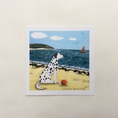 Image of Dalmatian and Spotty Ball card