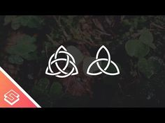 Inkscape Tutorial: Celtic Knot Icon - YouTube