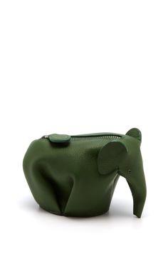 ロエベによる象アマゾナコインケース - モーダ手口