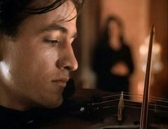Dermot Mulroney & violin in The Heart of Justice❤
