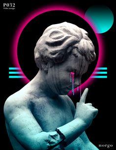 vaporwave statue statue, tears, tear, l - vaporwave Photoshop, Digital Art Beginner, Vaporwave Wallpaper, Vaporwave Art, Wow Art, Glitch Art, Digital Art Tutorial, Graphic Design Posters, Poster Designs