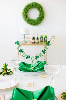 How to get your bar cart ready for Saint Patrick's Day