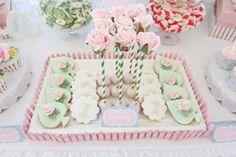 Gorgeous Rose Garden Themed 1st Birthday & Rose Cake Pops