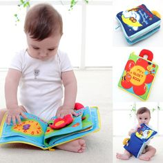 12 pages Soft Cloth Baby Boys Girls Books Rustle Sound Infant Educational Stroller Rattle Toys For Newborn Baby month - Kid Shop Global - Kids & Baby Shop Online - baby & kids clothing, toys for baby & kid Cognitive Development Activities, Educational Baby Toys, Newborn Toys, Baby Newborn, Baby Shop Online, Baby Rattle, Book Girl, E Bay, Toddler Toys
