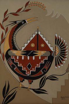Native American Paintings, Native American Symbols, Native American Design, Native American Pottery, Native American Artists, American Indian Art, American Indians, American Women, American History